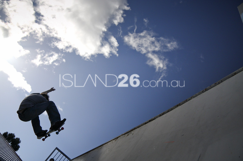 Tasmanian Skateboard Photography