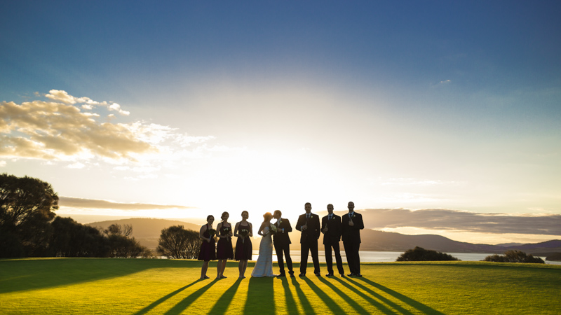 Bahai Centre + Tasmania Golf Club | Hobart Wedding Photographer