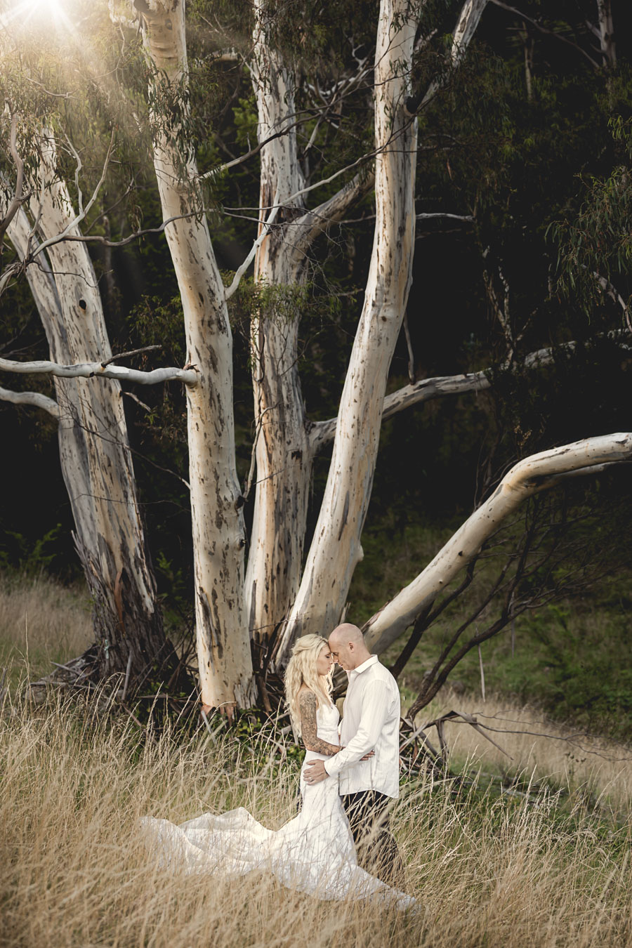 Glen Albyn Wedding - Hobart Wedding Photographer - Island 26 - Tony Lomas