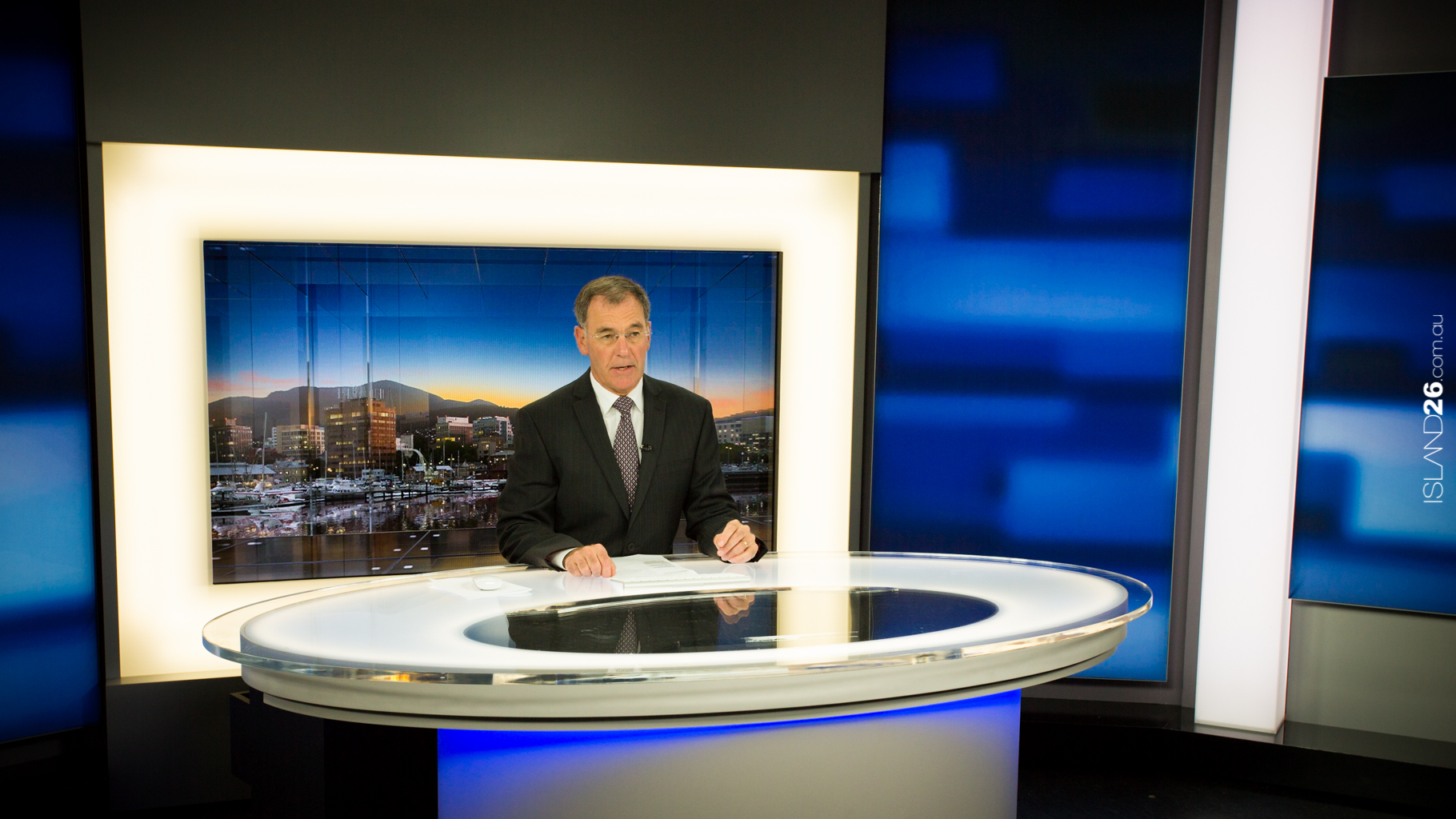 Images for the new ABC TV News set